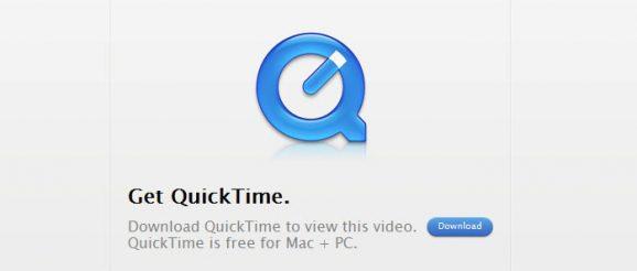 Nå er det slutt på Windows-versjonen av QuickTime. Skjermbilde: Apple.com