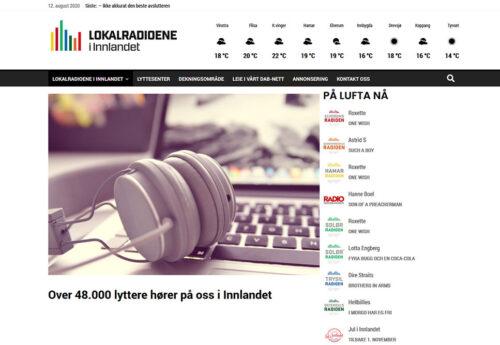 Lokalradioportal for Innlandet