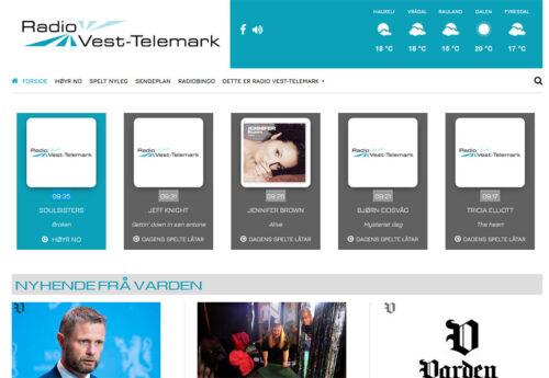 Telemarksradio med ny nettside
