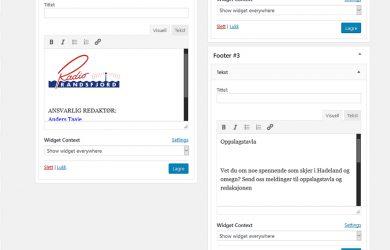 Ikke oppgrader WordPress enda!